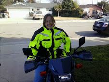 Biker chick...