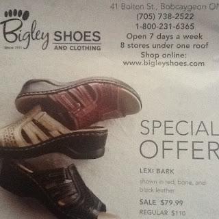 Image Bigley Shoes Clarks Spring 2012 Flyer