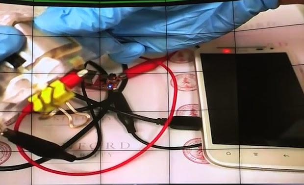 الكشف عن بطارية هاتف ذكي تشحن في دقيقة واحدة !