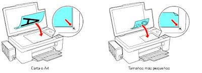 Как расположить документ в принтере