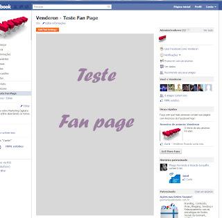 Visualização da página criada