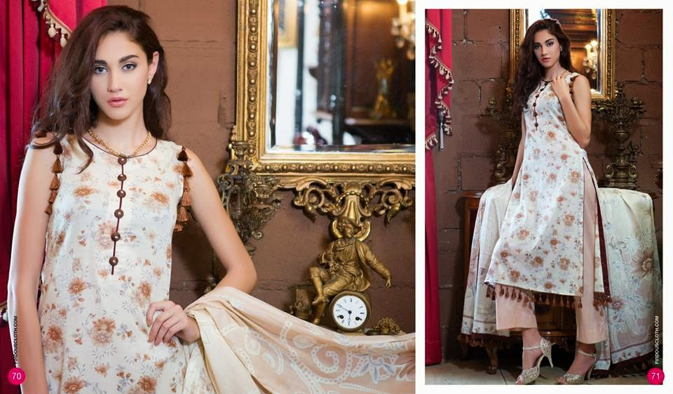 Firdous casual summer lawn collection 2015