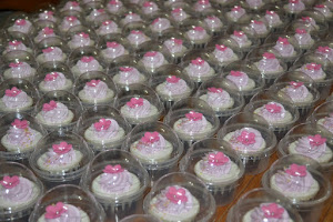 Mini cuppies in dome cup