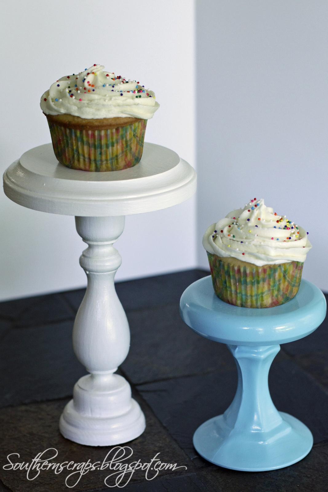 southern scraps cupcake stands. Black Bedroom Furniture Sets. Home Design Ideas
