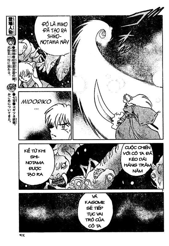Inuyasha-Khuyển Dạ Xoa-Bản Đẹp chap 523 Trang 7