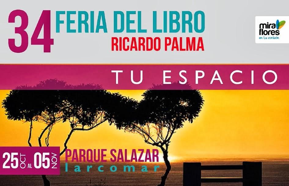 34 Feria Libro Ricardo Palma