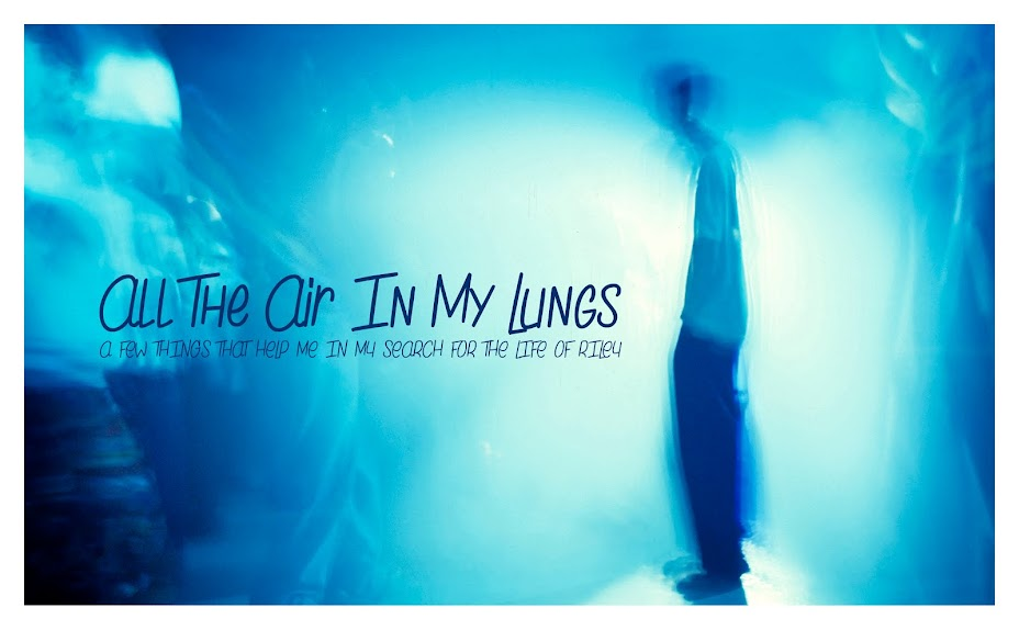 All the Air In My Lungs