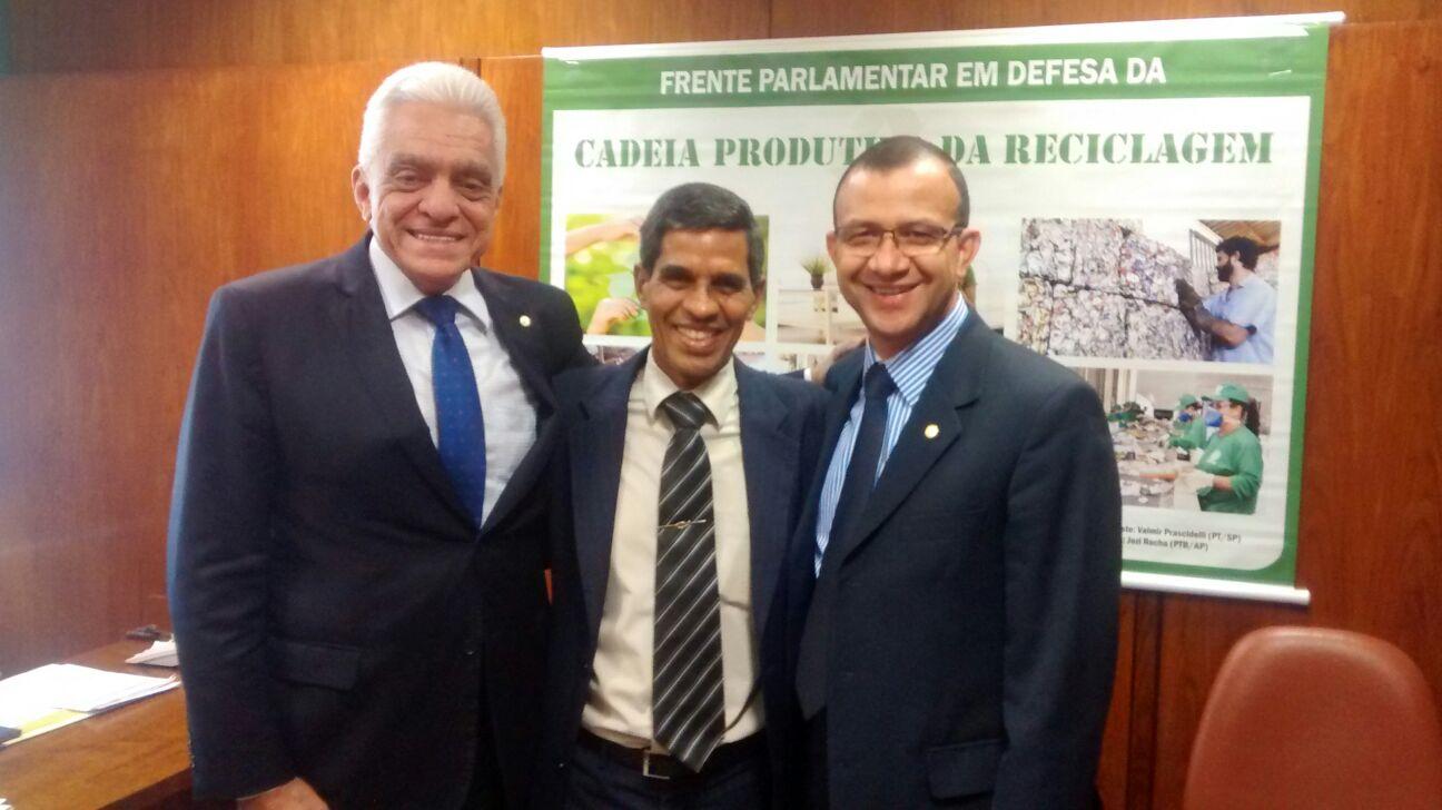 QPS WELLINGTON E BISPO FLÁVIO CE E DEP. CARLOS GOMES RS