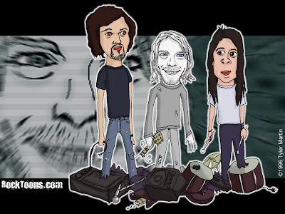 Nirvana caricatura