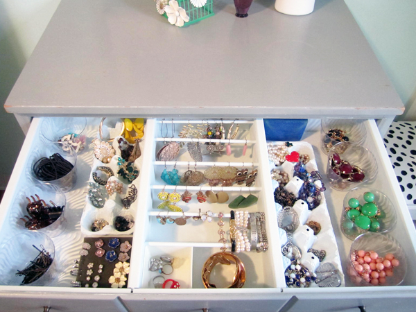 Very Fond Of Organized Jewelry Drawer