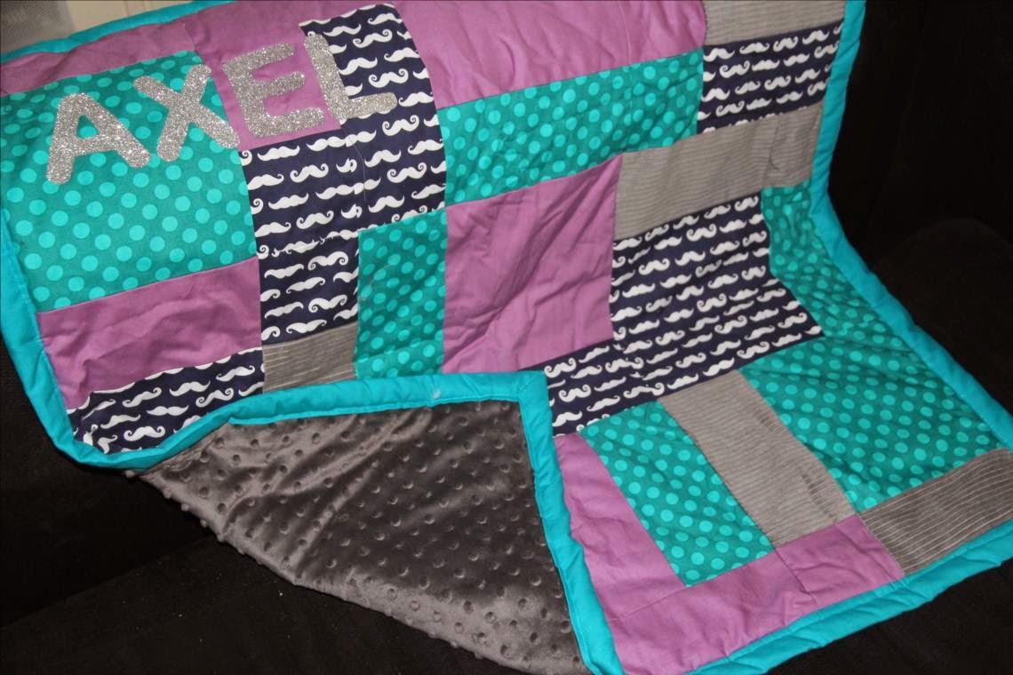 couvre lit bebe patchwork Laisse Luciefer   Les Petits Secrets Couture: Tuto Couverture Bébé  couvre lit bebe patchwork