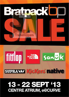 Bratpack Clearance Sale 2013
