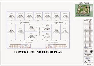 Livingston :: Floor Plans,Commercial:-Lower Ground Floor Plan