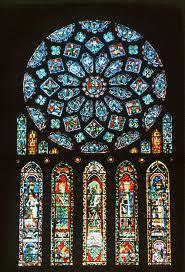 - ROSA gótica - (vitrales)