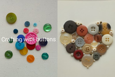 Miss Chaela Boo - October highlight - Crafting with buttons