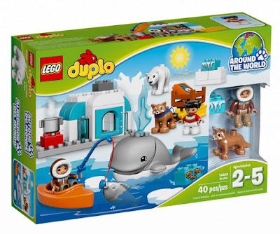 TOYS : JUGUETES - LEGO Duplo  10803 Ártico : Alrededor del Mundo  Arctic : Around The World   Producto Oficial 2016 | Piezas: 40 | Edad: 2-5 años  Comprar en Amazon España & buy Amazon USA