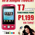 Cherry Mobile T7 Beat: Entertainment in a single TOUCH for only P1,199!