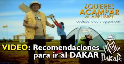 recomendaciones para ir al DAKAR Bolivia 02