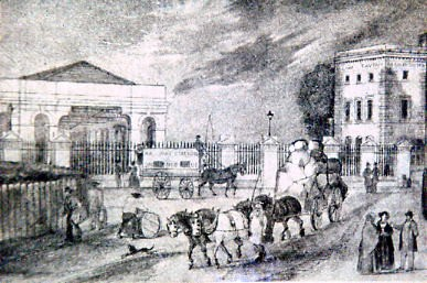 Print of Gosport Station