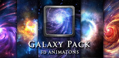 Galaxy Pack 3D Live Wallpaper v1.5