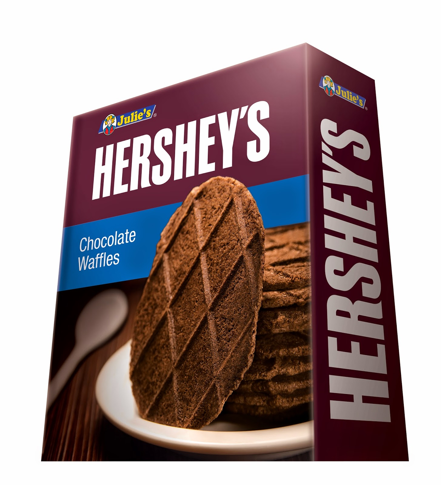 Julie's Hershey's Chocolate Waffles