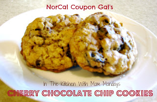 In The Kitchen With Mom Mondays: Cherry chocolate chip cookies