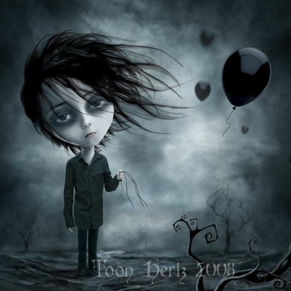 Imagem Tristes balões