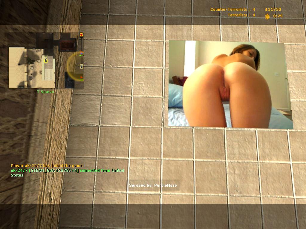 counter porn spray strike Mild nudity is  allowed.