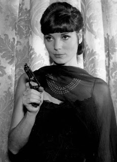 The actress Elsa Martinelli in a 1965 appearance in the TV show The Rogues