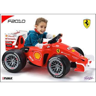 coche ferrari juguete