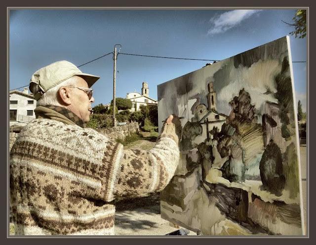 SANT BOI DE LLUÇANES-PINTURA-PAISAJES-PUEBLOS-CATALUNYA-FOTOS-PINTOR-ERNEST DESCALS-