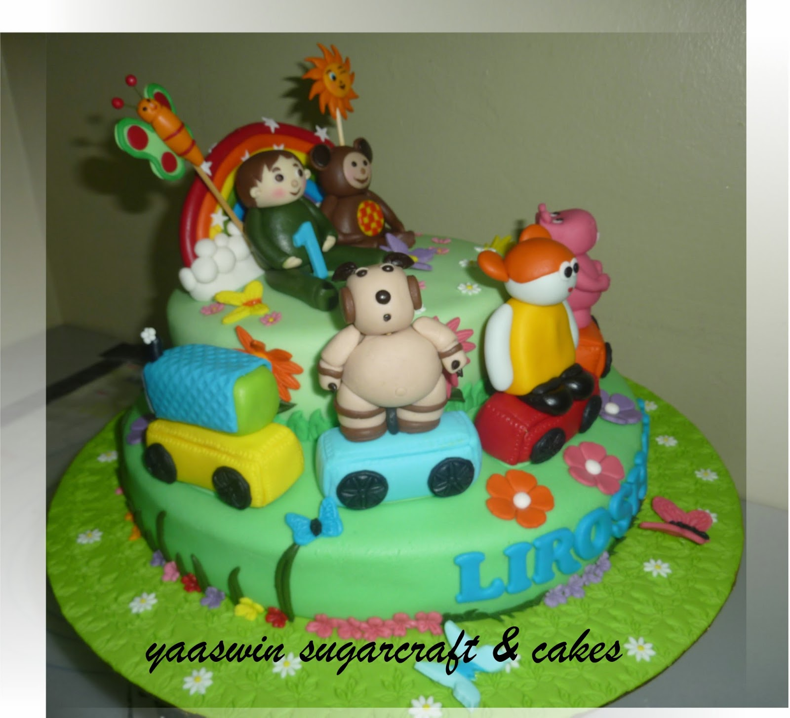 Cake Tv Show Crafts : Yaaswin Sugarcraft & Cakes: Baby Tv Oliver & Friends ...