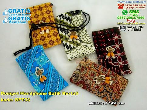 Dompet Handphone Batik Bertali Kain Batik