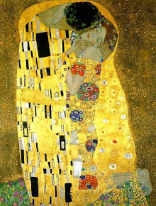 """The kiss"" (O beijo), de Gustav Klimt (1907-1908)"
