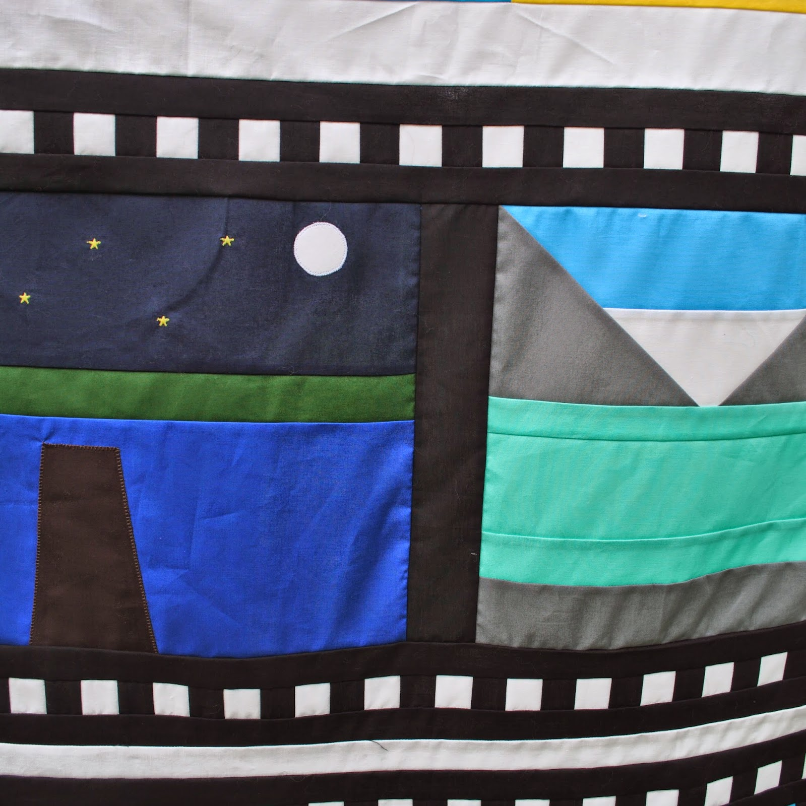 Camera Quilt - film strip 1