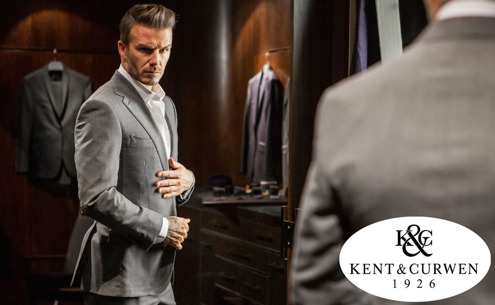 Eniwhere Fashion - Beckham for Kent & Curwen - new collection