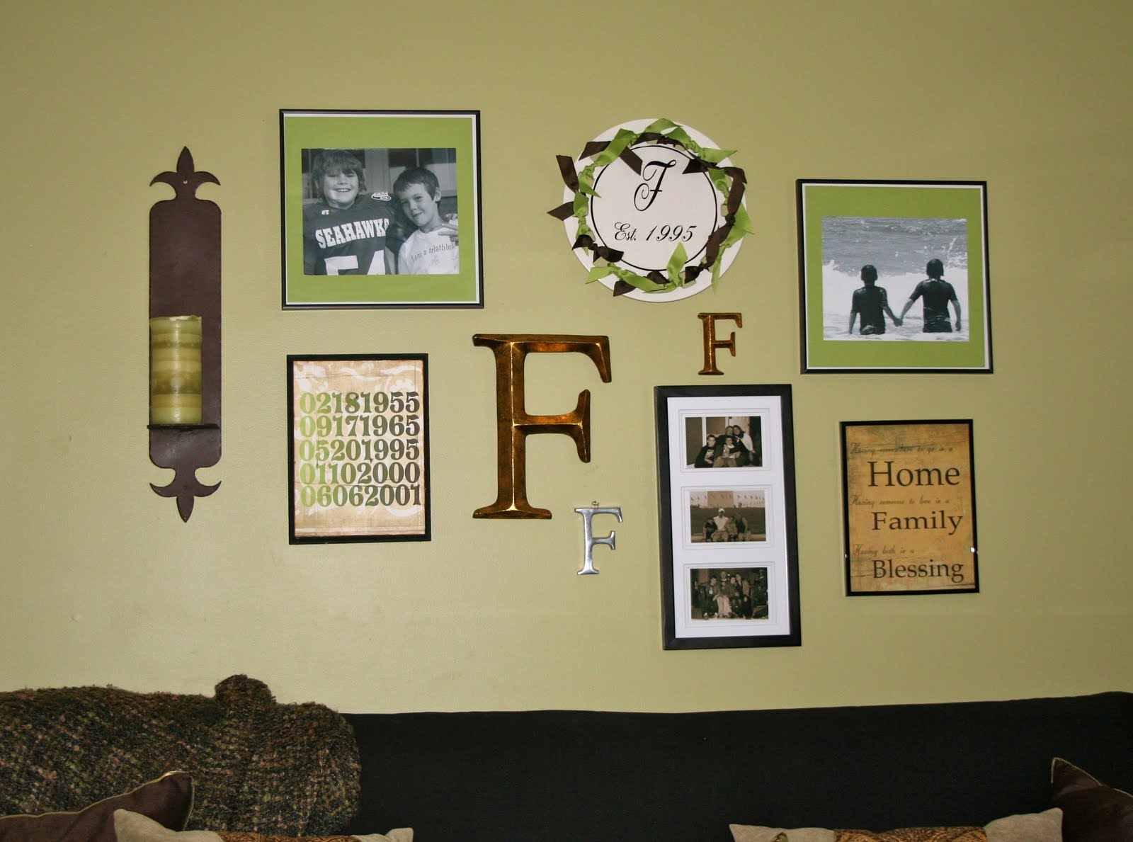 Wall Decor Arrangement Ideas Pictures : Interior custom designs wall art arrangements