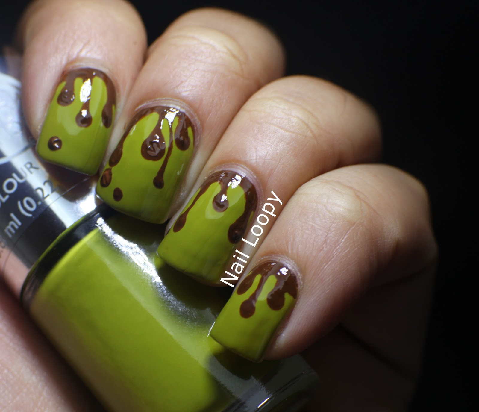nail loopy: SWAMP NAILS WITH THE BODY SHOP