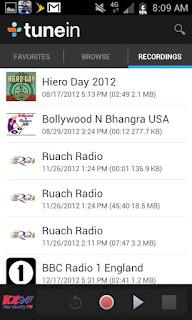 tuneIN radio pro android