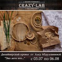 """""""Эко лето это..."""" с блогом """"Crazy-Lab"""""""