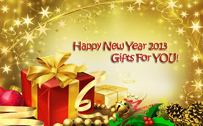 happy new year 2013 gift