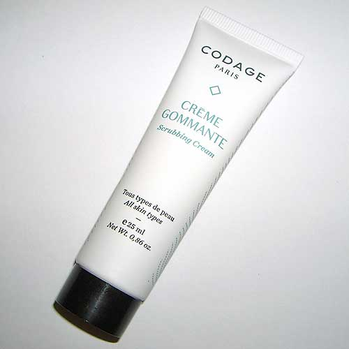 Crema exfoliante Codage en tu beautybox lookfantastic de septiembre