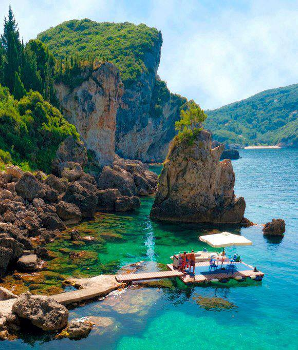 La Grotta Cove – Corfu Island, Greece