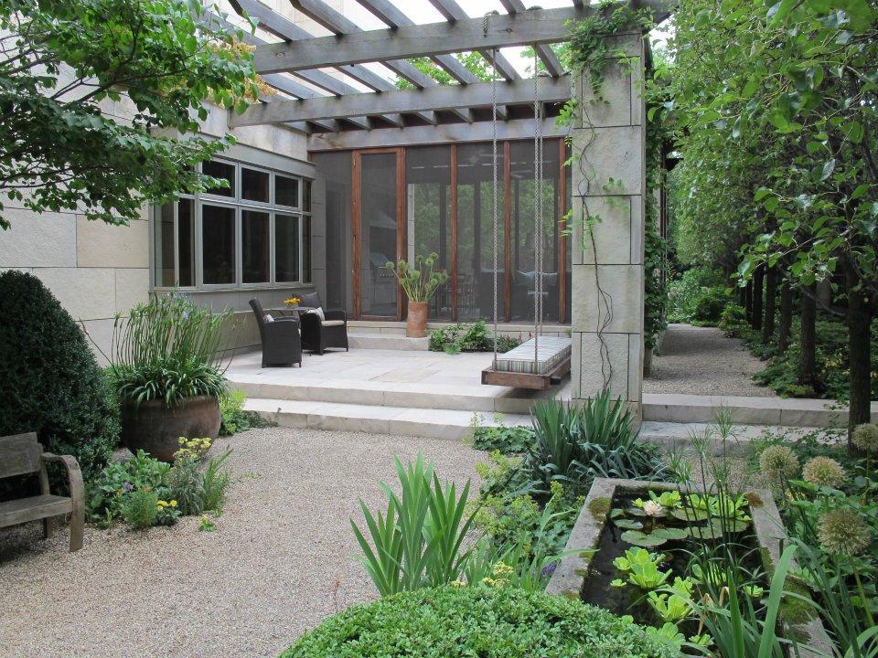 The garden april 2013 for Hoerr schaudt landscape architects