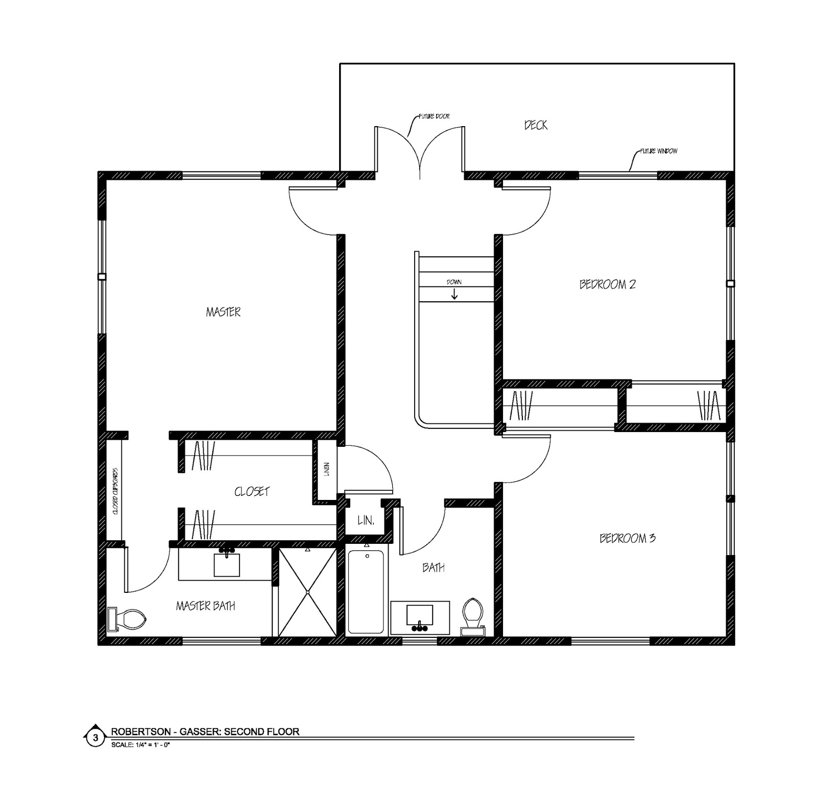 Trove Interiors Rough In Plumbing Diagram Under Sink Rwitherspoon Looking Back On The Second Floor There Was No Master Bathroom Or Shower And Closet Space Awkward Small Also Arrangement Left 4th