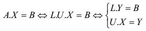 Code C/C++: Giải hệ phương trình tuyến tính dựa vào phân rã LU