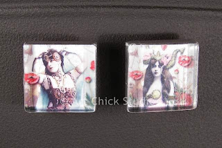 Gypsy Glass Tile Magnets 3