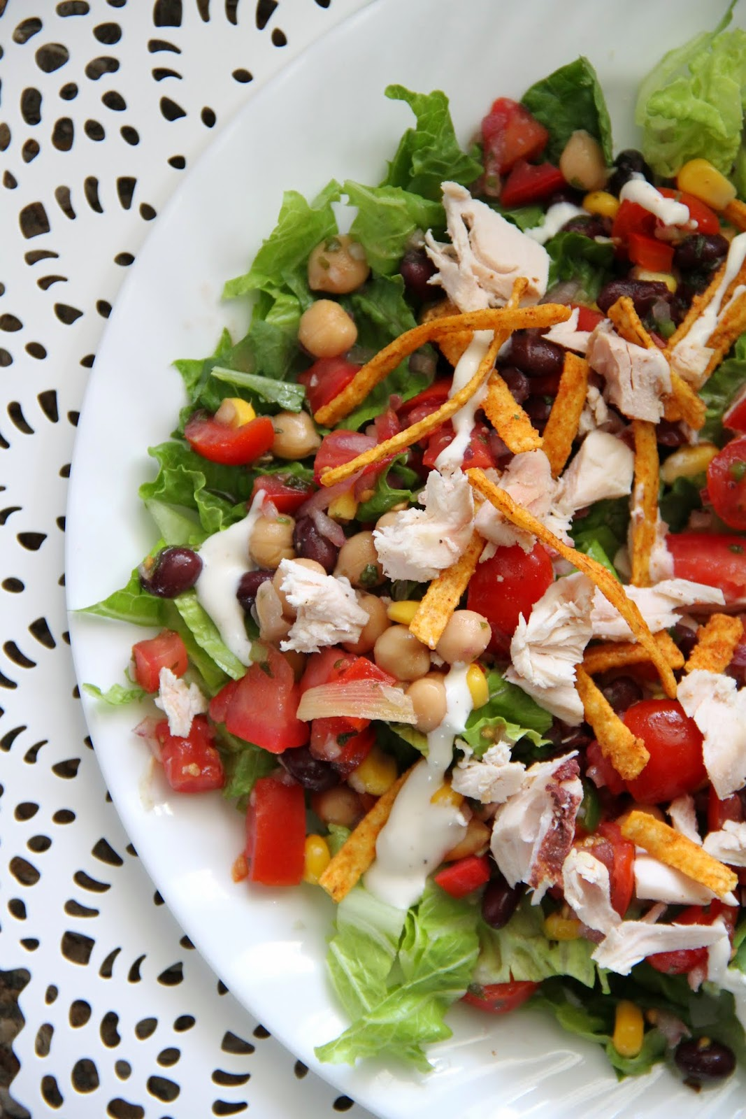 It's nearly officially summer and salads are the easiest thing to ...
