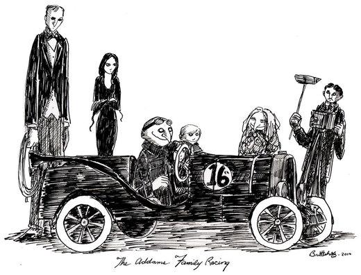 Addams Family Racing por herbertzohl