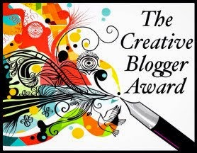 Creative Blogger Award :)